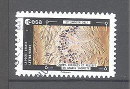 France Autoadhésif Oblitéré N°1576 (Thomas Pesquet) (cachet Rond) - France