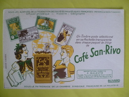 Buvard  Café SAN RIVO  Brésil - Blotters
