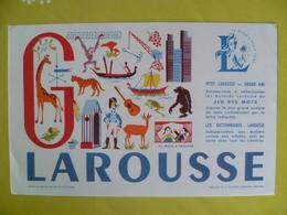 Buvard  LAROUSSE - Blotters