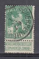 110 Gestempeld SCHERPENHEUVEL - MONTAIGU - COBA 8 Euro - 1912 Pellens
