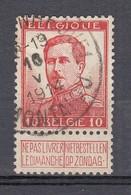 123 Gestempeld SCHERPENHEUVEL - MONTAIGU - COBA 8 Euro - 1912 Pellens