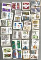Pologne - 2500 Timbres Oblitérés En Bottes De 100 - Stamps