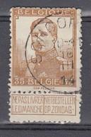 113 Gestempeld SCHOORISSE - COBA 15 Euro - 1912 Pellens