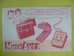 Buvard  Articles écoliers MARCEL AVEZ - Blotters