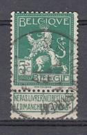 110 Gestempeld ST DENIS WESTEM - COBA 8 Euro - 1912 Pellens