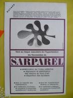Buvard  Face Au Risque Vasculaire SARPAREL - Carte Assorbenti