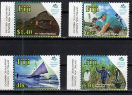 FIJI, 2018, MNH, COP23 FIJI, SAILBOATS, BOATS, ENVIRONMENT, CLIMATE CHANGE, AGRICULTURE,4v - Environment & Climate Protection