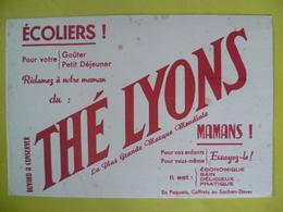 Buvard  THE LYONS écoliers Pour Votre Petit Déjeuner - Blotters
