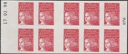 3085 C 3 LUQUET Type 1 - DATE HAUTE 17.02.98 - Couverture Neutre Aux UV - Booklets