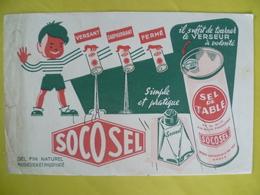 Buvard  Sel De Table SOCOSEL - Blotters