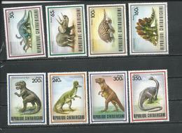 CENTRAFRIQUE  Scott 872-879 Yvert 779-786 ** (8) Cote 17,00 $ 1988 - Centrafricaine (République)