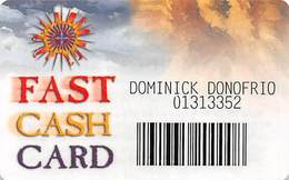 Mohegan Sun Casino - Uncasville, CT USA - Paper Fast Card Game Card From 2000 - Casino Cards