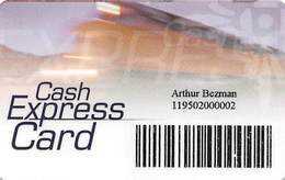 Mohegan Sun Casino - Uncasville, CT USA - Paper Cash Express Card - Game Card From 2001 - Casino Cards