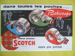 Buvard  Ruban Adhésif SCOTCH - Blotters