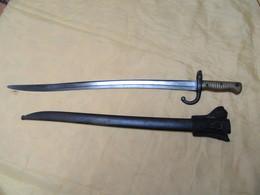 BAIONNETTE CHASSEPOT ST ETIENNE 1867 - Knives/Swords