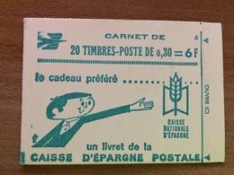 Carnet 1536-C3 Type Cheffer - Conf 6 - Fermé Parfait état - Usage Courant