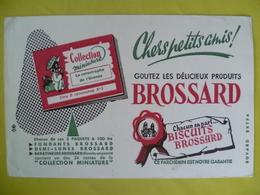 Buvard  Biscuits BROSSARD - Blotters