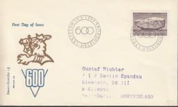 FINNLAND  546, FDC, 600 Jahre Politische Grundrechte Des Finnischen Volkes, 1962 - FDC