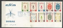 DUBAI - FDC - Health - Medicine - Malaria - 1963 - Dubai