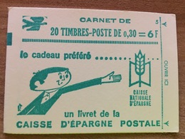 Carnet 1536A-C1 Type Cheffer - Conf 5 - Fermé Parfait état - Carnets