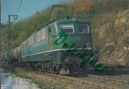 DB Elektrische Güterzug Lokomotive, Baureihe 150, Auf Der Geislinger Steige 1981, Deutsche Bundesbahn, Eisenbahn, Train - Eisenbahnen
