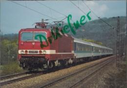 DB Elektrischer Mehrzweck Lokomotive, Baureihe 243, Großheringen-Bad Kösen 1991, Deutsche Bundesbahn, Eisenbahn, Train - Eisenbahnen