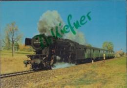 DB Personenzug Dampf-Lokomotive, Baureihe 023, Bei Crailsheim 1968, Deutsche Bundesbahn, Eisenbahn, Train - Eisenbahnen