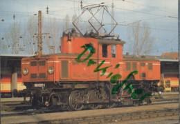 ÖBB 1161 020-1, Elektr. Rangier Lokomotive, Im Hbf Salzburg,1985, Österreichische Bundesbahnen, Eisenbahn, Train - Eisenbahnen