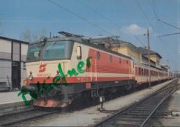 ÖBB 1044 501-3, Elektr. Schnellfahr Lokomotive, Im Hbf Salzburg,1988, Österreichische Bundesbahnen, Eisenbahn, Train - Eisenbahnen