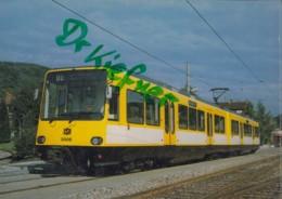 SSB 3006, Stadtbahn Triebwagen, Ettlingen 1982, Stuttgarter Straßenbahnen, Eisenbahn, Train - Eisenbahnen