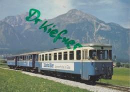 ZTB VT 2, Diesel Triebwagen, Straß-Schlitters 1972, Zillertalbahn, Eisenbahn, Train - Eisenbahnen