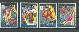 CENTRAFRIQUE  Scott 899-802 Yvert 795-796, PA377-PA378 ** (4) Cote 10,00 $ 1988 - Centrafricaine (République)