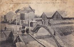 CPA Saint Amand Les Eaux, L'abbatoir. Le Pont De La Rue Condé (pk50612) - Saint Amand Les Eaux