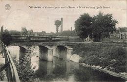 Vilvoorde Vilvorde Vanne Et Pont Sur La Senne Schof En Brug Op De Senne (Zenne) - Vilvoorde