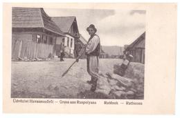 Ukraine - Bukowina,Bucovina,Bukovina - Havasmezorol Gruss Aus Ruspolyana Ruthenen Rutenek RARE - Ukraine