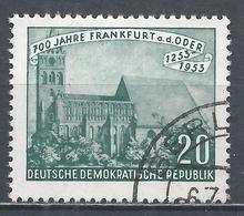 German Democratic Republic 1953. Scott #152 (U) Evangelical Marienkirche * - [6] Democratic Republic