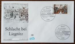Allemagne - FDC 1991 - YT N°1343 - Bataille De Liegnitz - [7] Repubblica Federale
