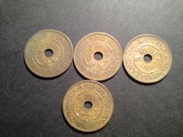 One Penny  1956, 57, 58, 61, 63 - Rhodesien