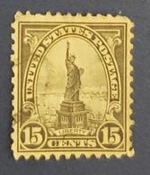 1922 Statue Of Liberty,  United States Of America, USA, Used - United States