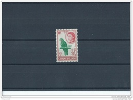 CAIMANES 1962 - YT N° 157 NEUF SANS CHARNIERE ** (MNH) GOMME D'ORIGINE LUXE - Cayman Islands