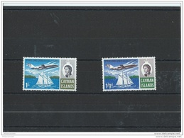 CAIMANES 1966 - YT N° 195/196 NEUF SANS CHARNIERE ** (MNH) GOMME D'ORIGINE LUXE - Cayman Islands