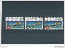 CAIMANES 1972 - YT N° 299/301 NEUF SANS CHARNIERE ** (MNH) GOMME D'ORIGINE LUXE - Iles Caïmans