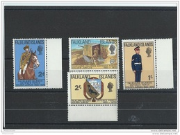 FALKLAND 1970 - YT N° 182/185 NEUF SANS CHARNIERE ** (MNH) GOMME D'ORIGINE LUXE - Falkland Islands