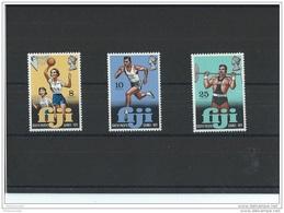 FIDJI 1971 - YT N° 299/301 NEUF SANS CHARNIERE ** (MNH) GOMME D'ORIGINE LUXE - Fidji (1970-...)
