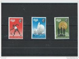 FIDJI 1969 - YT N° 259/261 NEUF SANS CHARNIERE ** (MNH) GOMME D'ORIGINE LUXE - Fiji (1970-...)