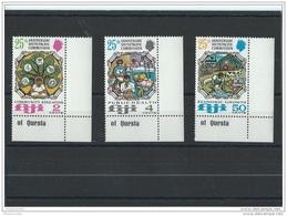 FIDJI 1972 - YT N° 302/304 NEUF SANS CHARNIERE ** (MNH) GOMME D'ORIGINE LUXE - Fidji (1970-...)