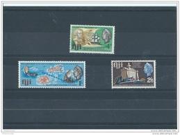 FIDJI 1967 - YT N° 212/214 NEUF SANS CHARNIERE ** (MNH) GOMME D'ORIGINE LUXE - Fidji (1970-...)