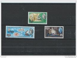FIDJI 1967 - YT N° 212/214 NEUF SANS CHARNIERE ** (MNH) GOMME D'ORIGINE LUXE - Fiji (1970-...)