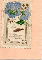 E1411 - Carte Postale Gaufrée - 1er AVRIL - April Fool's Day