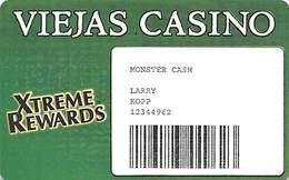 Viejas Casino - Alpine CA - Paper Monster Cash Card - Casino Cards